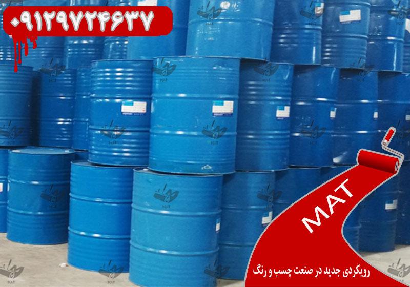 بازار رنگ و رزین ایران